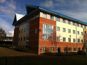 University Building Exterior [Photograph]