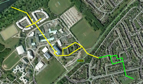 Clifton Onslaught Route