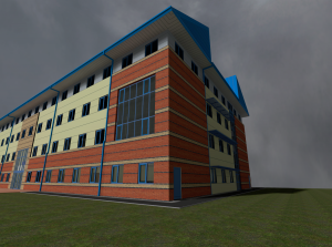 University Building Exterior 2 [Ingame Screenshot]