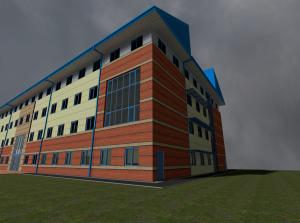 University Building Exterior 2 [Ingame Screenshot]
